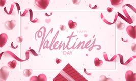 Glücklicher Valentinsgrußtag Stockfotografie
