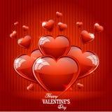 Glücklicher Valentinsgrußtag stock abbildung
