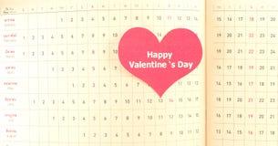 Glücklicher Valentinsgrußtag Stockfoto