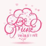 Glücklicher Valentinsgrußtag-bokeh Hintergrund Lizenzfreie Stockbilder