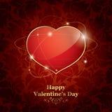 Glücklicher Valentinstag Stockfotografie