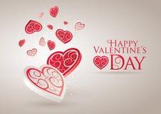 Glücklicher Valentinstag stock abbildung