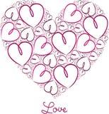 Glücklicher Valentinstag! vektor abbildung