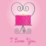 Glücklicher Valentinstag! lizenzfreie abbildung