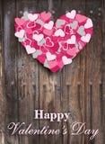 Glücklicher Valentinstag Stockbild