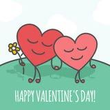 Glücklicher Valentinstag Lizenzfreie Stockfotografie