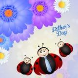 Glücklicher Vater ` s Tag Stockbilder