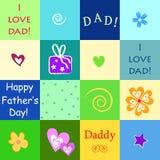 Glücklicher Vatertag Lizenzfreies Stockfoto
