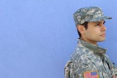 Glücklicher Veteranen-Tag Kopieren Sie Raum für das Addieren des Textes Stockbild