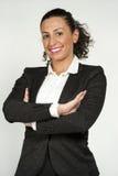Glücklicher weiblicher Jurastudent stockfotografie