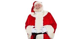 Glücklicher Weihnachtsmann stockbild