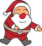 Glücklicher Weihnachtsmann Stock Abbildung