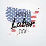 Glücklicher Werktag beschriftung Hintergrund Grafikdesign für Dekorationsposter, Karten, Gutscheine Lizenzfreies Stockbild