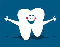 Glücklicher Zahn Lizenzfreies Stockbild