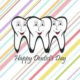 Glücklicher Zahnarzt Day Lizenzfreie Stockfotos