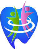 Glücklicher Zahnpflege Lizenzfreie Stockbilder