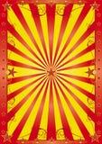 Glücklicher Zirkushintergrund vektor abbildung