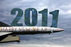 Glückliches 2011 Lizenzfreie Stockfotos
