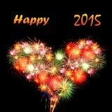 Glückliches 2015 Stockfotos