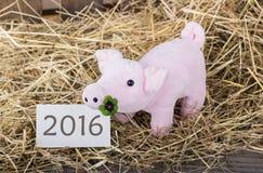 Glückliches 2016 Stockbild