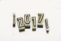 Glückliches 2017 Stockbilder