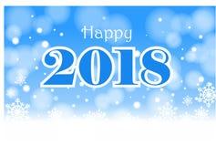 Glückliches 2018 Lizenzfreie Stockfotografie