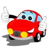 Glückliches Auto Stockfoto