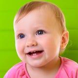 Glückliches Baby des Porträts Stockbilder