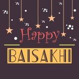 Glückliches Baisakhi Lizenzfreies Stockbild