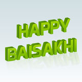 Glückliches Baisakhi Stockfotos