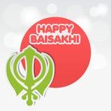 Glückliches Baisakhi Lizenzfreies Stockfoto