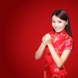 Glückliches chinesisches neues Jahr Stockbild