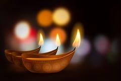 Glückliches Diwali Stockfoto