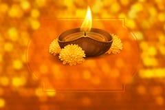 Glückliches Diwali Stockbild