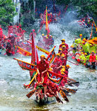 Glückliches Dragon Boat Festival Stockfotos