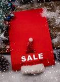 Glückliches Einkaufenmädchen auf weißem Hintergrund Lizenzfreie Stockbilder