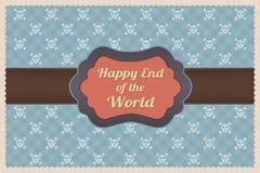 Glückliches Ende der Welt Lizenzfreies Stockfoto