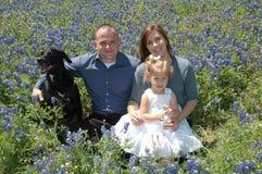 Glückliches Familien-Portrait Lizenzfreie Stockfotografie