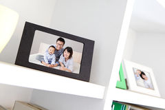 Glückliches Familienfoto Lizenzfreies Stockfoto