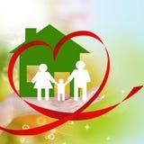 Glückliches Family.Love Stockfoto