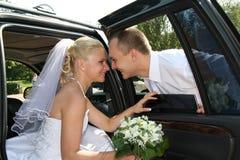 Glückliches geheiratet Stockbilder