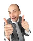 Glückliches Geschäft lizenzfreie stockfotos