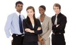 Glückliches Geschäfts-Team lizenzfreie stockfotografie