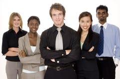 Glückliches Geschäfts-Team Stockfotografie