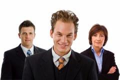Glückliches Geschäftsteam lizenzfreies stockbild