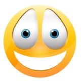 Glückliches Gesicht des smiley Stockbild