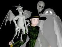 Glückliches Halloween! stockbild