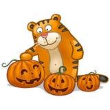 Glückliches Halloween! Stockfoto