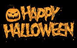 Glückliches Halloween Stockfotografie