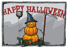 Glückliches Halloween! Lizenzfreie Stockfotografie
